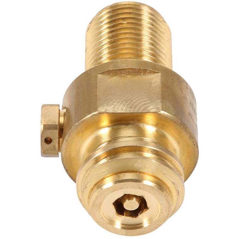 M18x1,5 TR21x4 Soda Filettatura in ottone Ricarica CO2 Bullone in ottone Soda Connettore Adattatore Valvola Serbatoio Accessori di ricarica