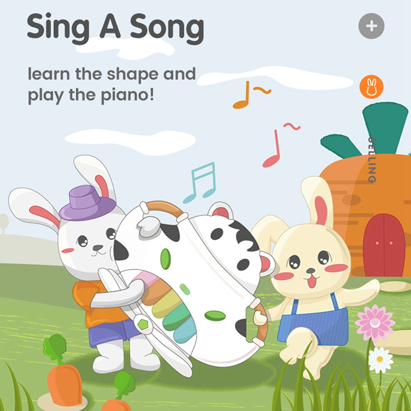 Tumama-Baby-Music-Piano-Kids-Baby-Instruments-Toddler-Toys-Educational-F9E3 thumbnail 3
