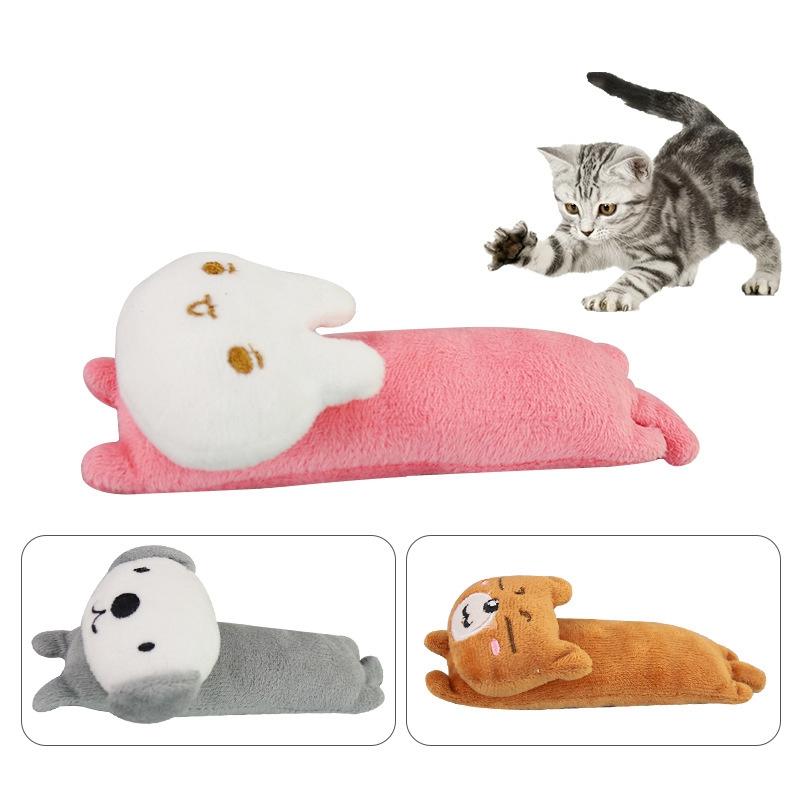 Indexbild 3 - Lustige Interaktive VerrüCkte Katzenspielzeug Pet KäTzchen Kauen Spielzeug  Y1F8