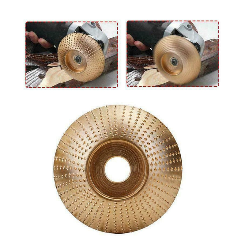 UK Woodworking Plate Angle Grinding Chain Wheel Wood Carving Disc For Grinder K