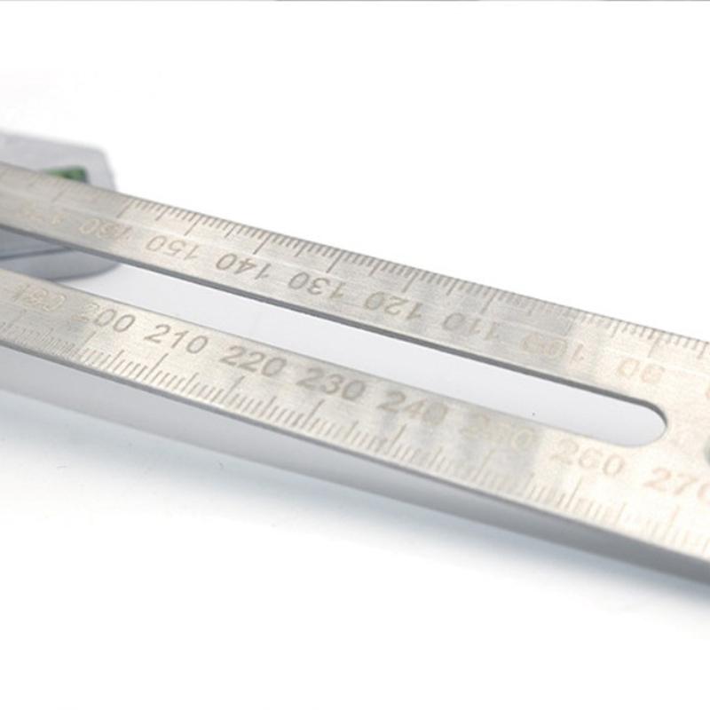 Multi Funktionale Carpenter Dreieck Lineal Carpenter Mess Werkzeug Dreieck E2X6
