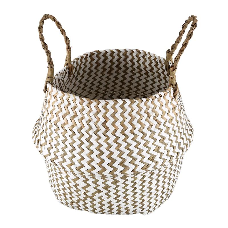 Seagr Storage Basket Wicker Rattan