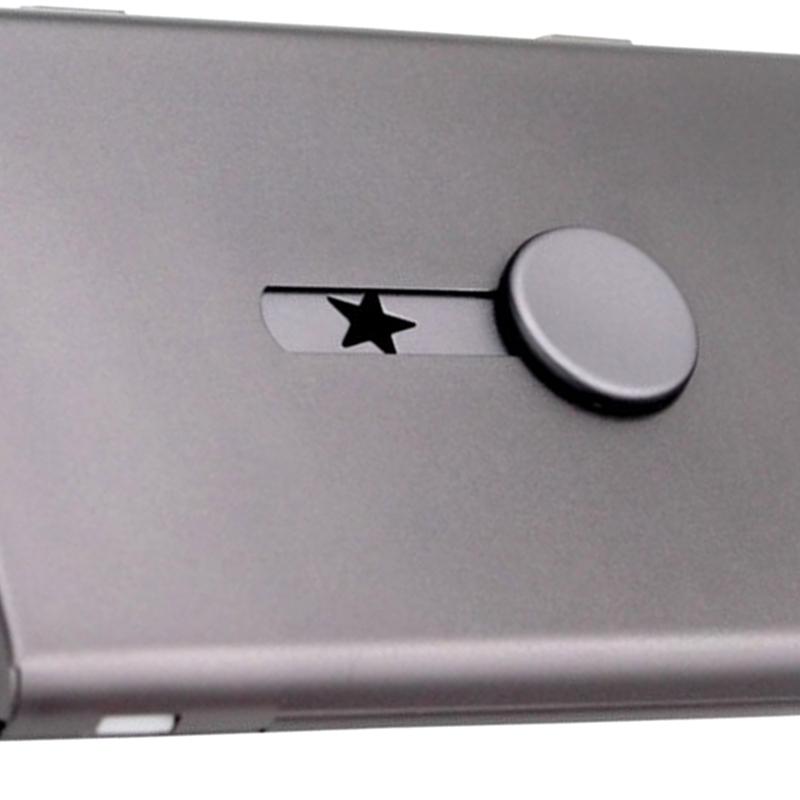 Porta-Biglietti-da-Visita-Push-Card-Porta-Carte-di-Credito-Confezione-Tesse-L2N2 miniatura 6