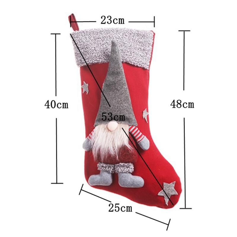Gesichtslose-Puppe-Weihnachten-Sockholder-Halter-mit-3D-PygmaeEnpuppe-Weihnac-JKO Indexbild 12