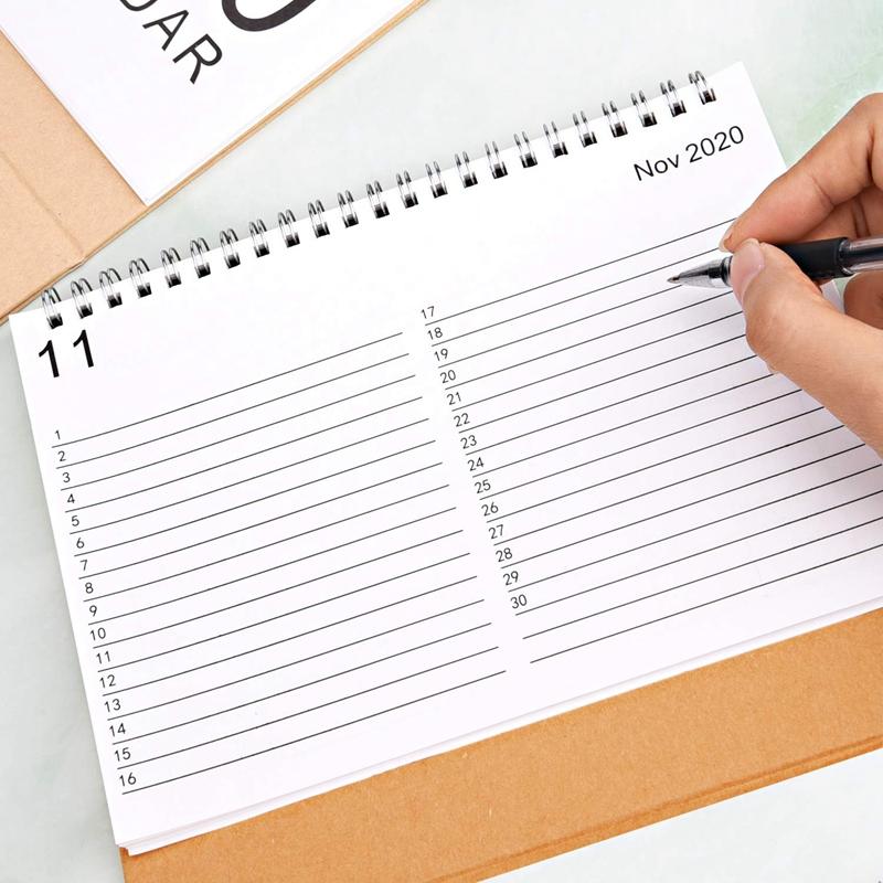 Escritorio-Calendario-de-Pared-Plan-Mensual-Planificador-Diario-Planificado-O6S5 miniatura 3