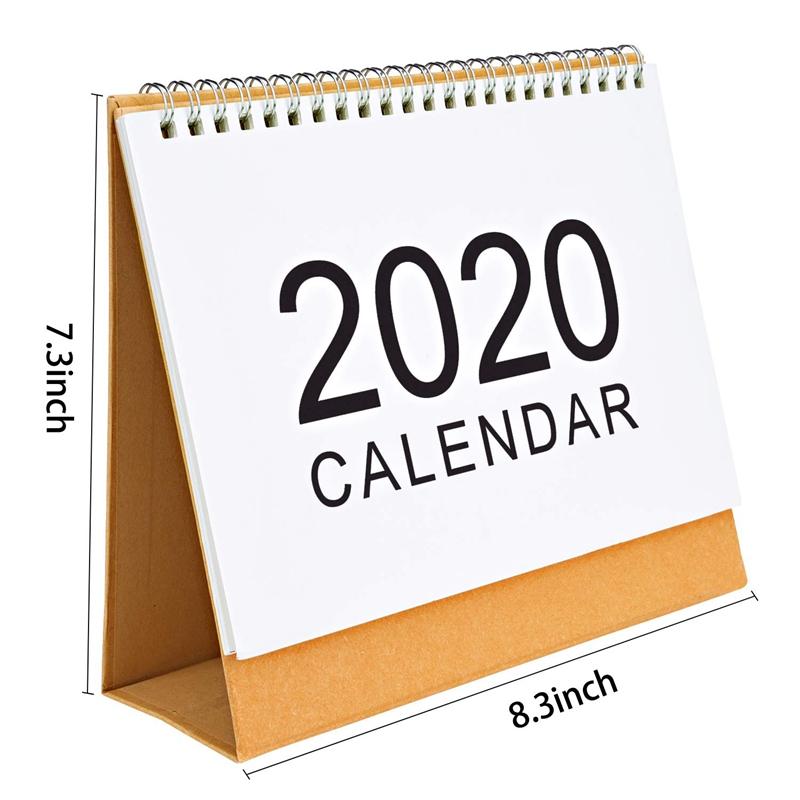 Escritorio-Calendario-de-Pared-Plan-Mensual-Planificador-Diario-Planificado-O6S5 miniatura 4