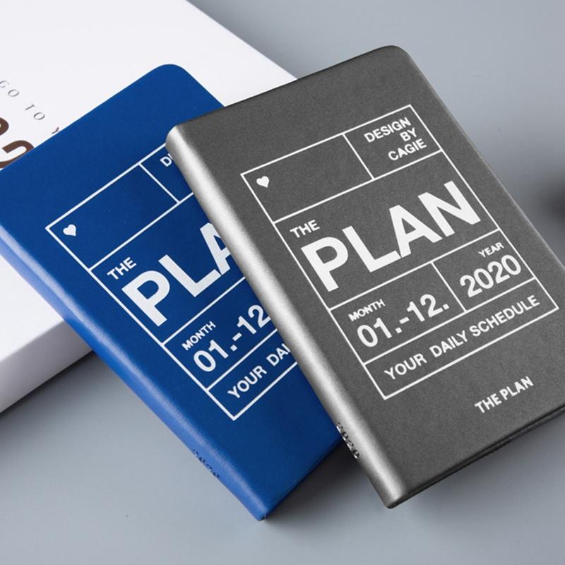 Planificador-del-AnO-2020-Viajes-A7-Cuaderno-Diario-Diario-Planificador-Sem-R8W8 miniatura 4
