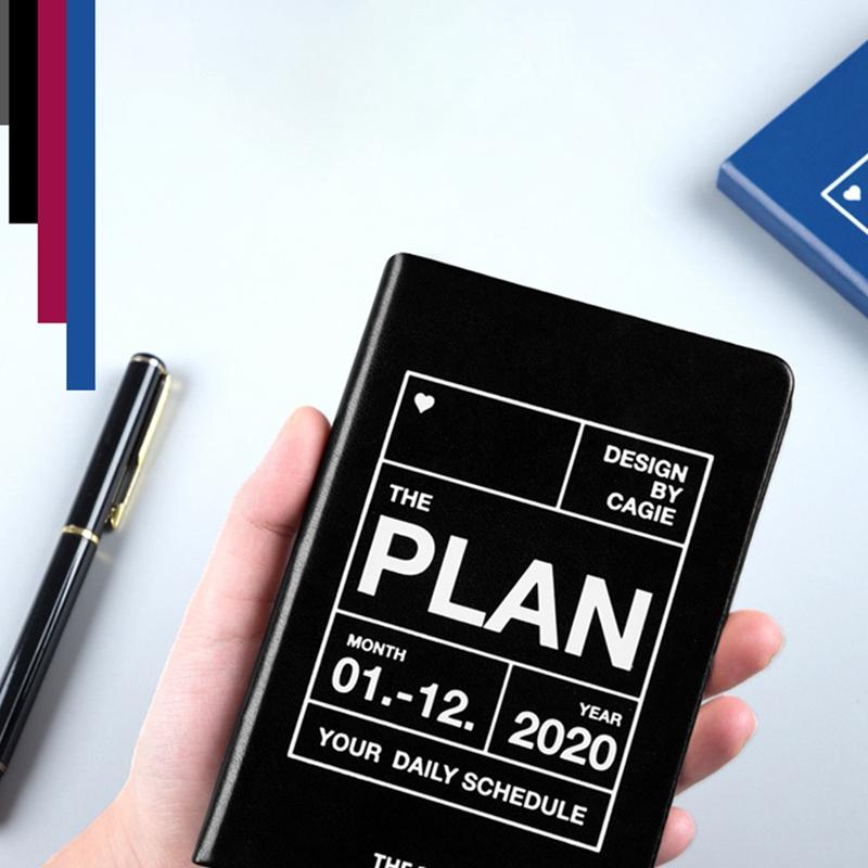 Planificador-del-AnO-2020-Viajes-A7-Cuaderno-Diario-Diario-Planificador-Sem-R8W8 miniatura 20