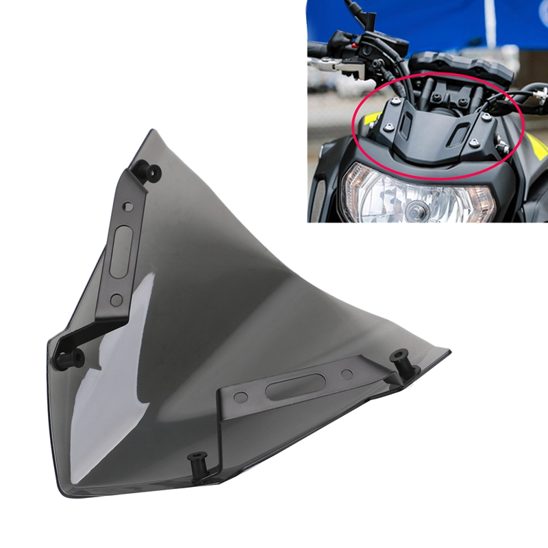 1x Parabrisas Parabrisas Para Yamaha Mt 07 Fz 07 2018 2019 2020 Accesorios P9z6 Ebay