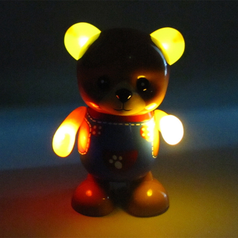 Electric-Toy-Bear-Swing-Dancing-Bear-Toy-Music-Lighting-Doll-Toy-Cute-Toy-H7O9 thumbnail 2