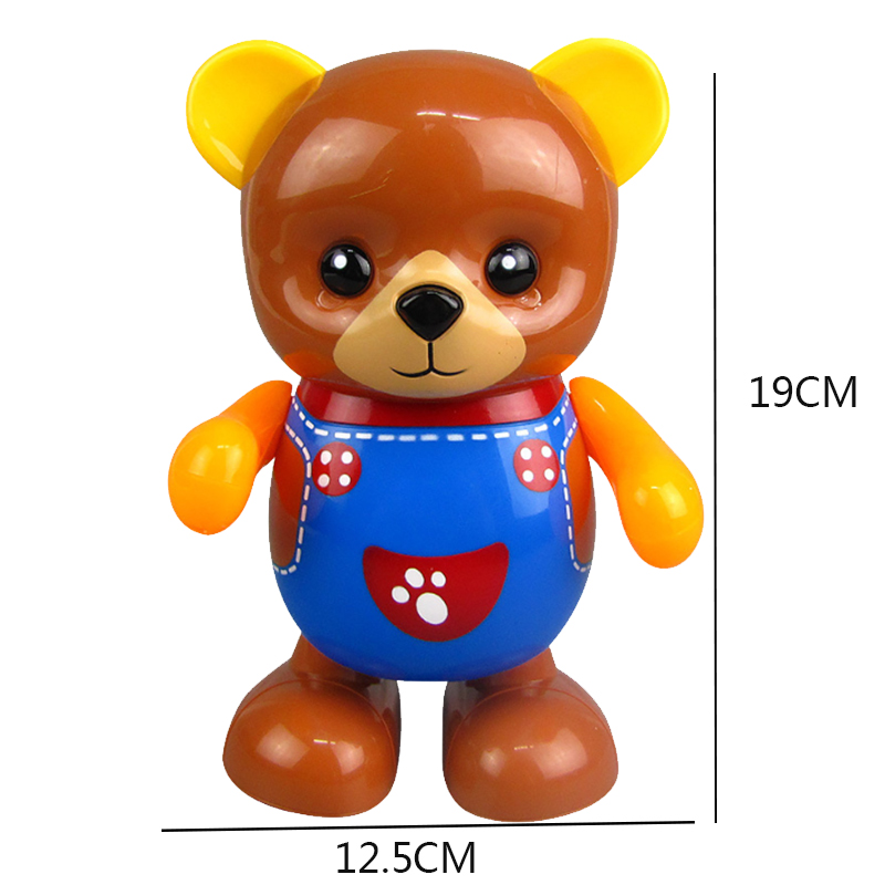 Electric-Toy-Bear-Swing-Dancing-Bear-Toy-Music-Lighting-Doll-Toy-Cute-Toy-H7O9 thumbnail 3