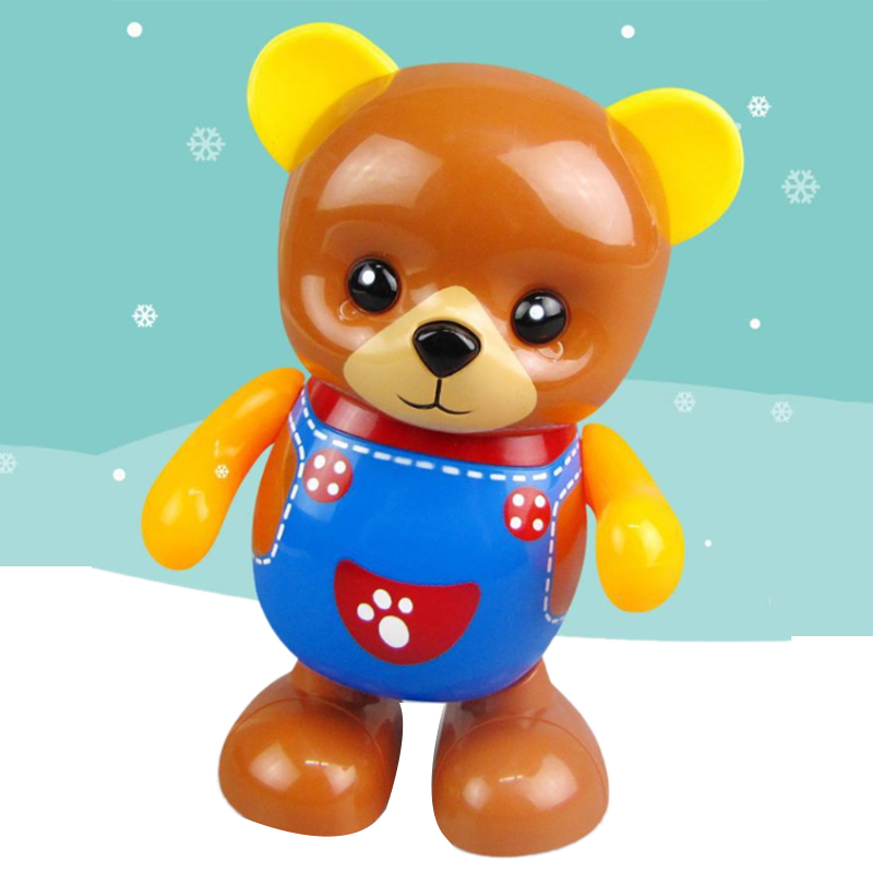 Electric-Toy-Bear-Swing-Dancing-Bear-Toy-Music-Lighting-Doll-Toy-Cute-Toy-H7O9 thumbnail 5