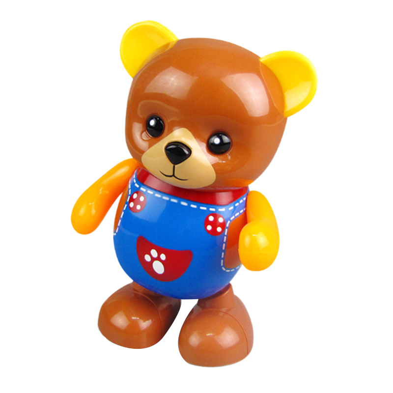 Electric-Toy-Bear-Swing-Dancing-Bear-Toy-Music-Lighting-Doll-Toy-Cute-Toy-H7O9 thumbnail 7