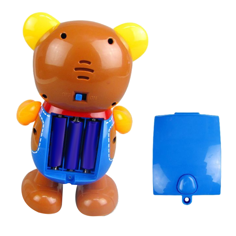 Electric-Toy-Bear-Swing-Dancing-Bear-Toy-Music-Lighting-Doll-Toy-Cute-Toy-H7O9 thumbnail 8