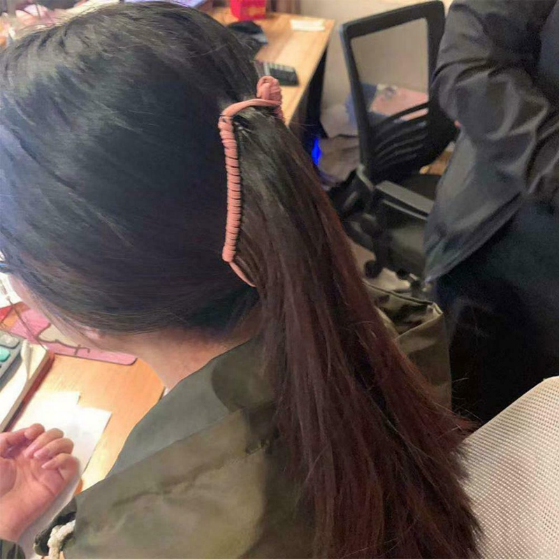 Vintage-Banana-Hair-Clip-Christmas-Accessory-Stretchable-Comb-Multipurpose-M3E7 thumbnail 9