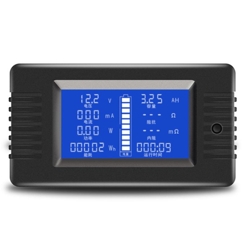 PZEM-015 200V 50A Battery Discharge Tester Capacity Power Energy Impedance M7V7
