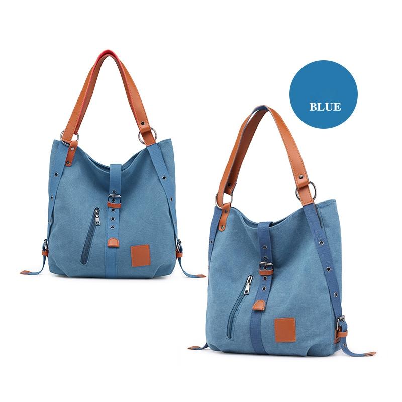 Mummy-Bag-Multifunctional-Backpack-Leisure-Women-039-s-Handbag-Large-Capacity-CW7G5 thumbnail 3