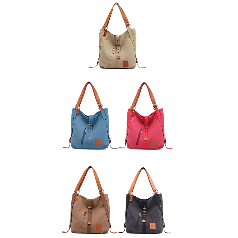 Mummy-Bag-Multifunctional-Backpack-Leisure-Women-039-s-Handbag-Large-Capacity-CW7G5 thumbnail 8