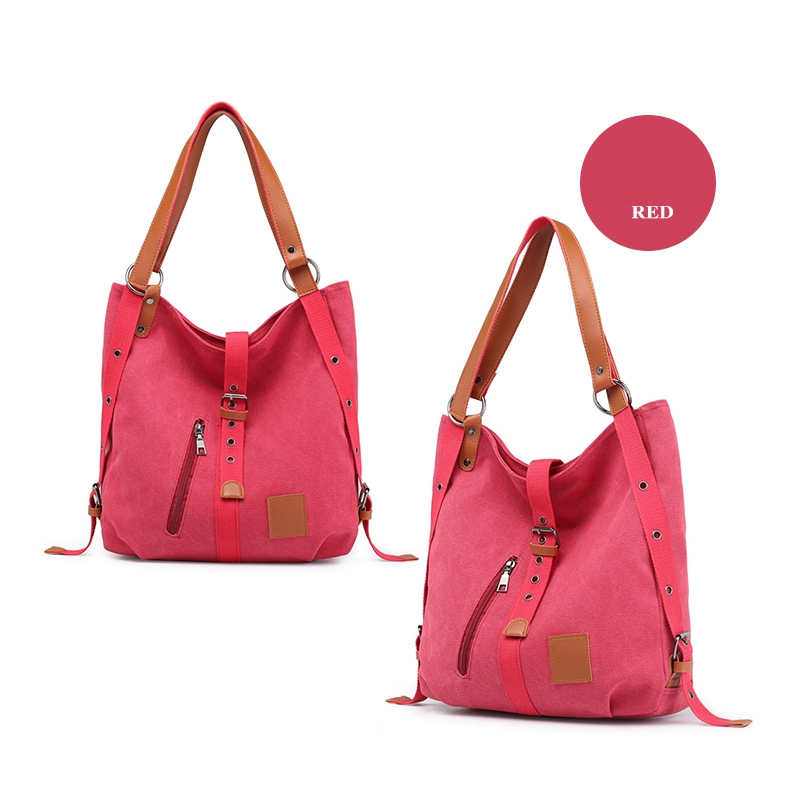 Mummy-Bag-Multifunctional-Backpack-Leisure-Women-039-s-Handbag-Large-Capacity-CW7G5 thumbnail 10
