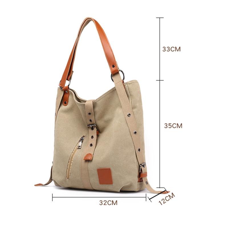 Mummy-Bag-Multifunctional-Backpack-Leisure-Women-039-s-Handbag-Large-Capacity-CW7G5 thumbnail 13