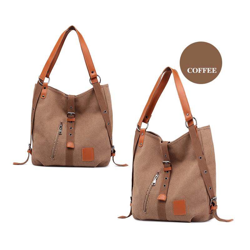 Mummy-Bag-Multifunctional-Backpack-Leisure-Women-039-s-Handbag-Large-Capacity-CW7G5 thumbnail 17