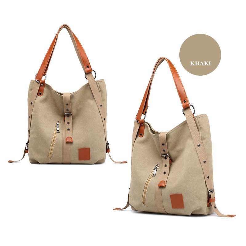 Mummy-Bag-Multifunctional-Backpack-Leisure-Women-039-s-Handbag-Large-Capacity-CW7G5 thumbnail 31