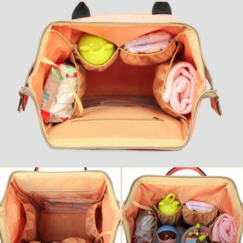 Mummy-Maternity-Nappy-Bag-Large-Capacity-Baby-Bag-Travel-Backpack-Nursing-B-U1H3 thumbnail 3