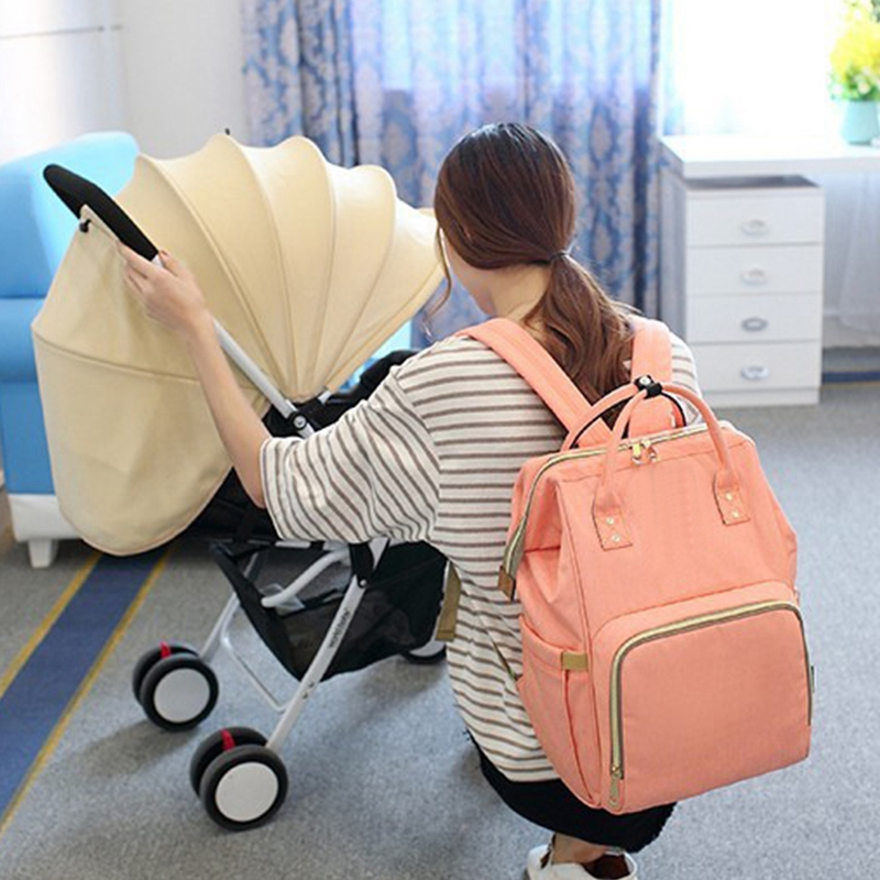 Mummy-Maternity-Nappy-Bag-Large-Capacity-Baby-Bag-Travel-Backpack-Nursing-B-U1H3 thumbnail 5