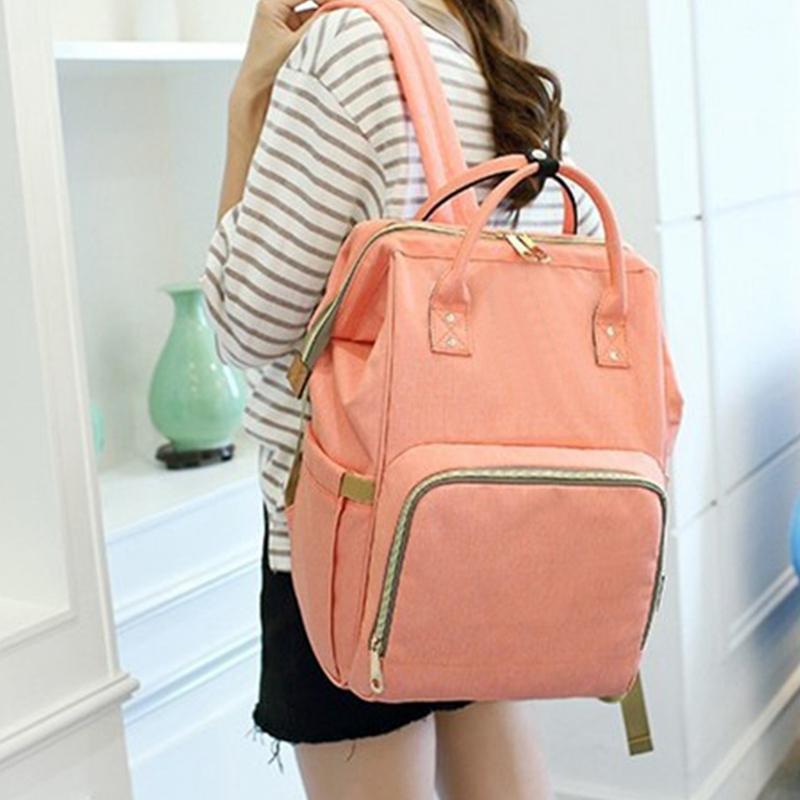 Mummy-Maternity-Nappy-Bag-Large-Capacity-Baby-Bag-Travel-Backpack-Nursing-B-U1H3 thumbnail 6