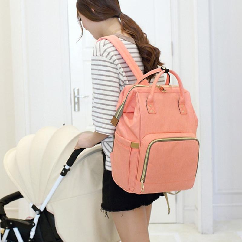 Mummy-Maternity-Nappy-Bag-Large-Capacity-Baby-Bag-Travel-Backpack-Nursing-B-U1H3 thumbnail 77