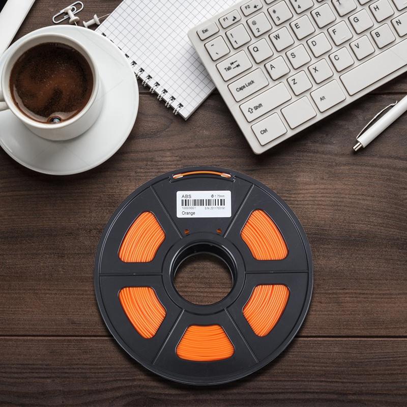 3D-Printer-Filament-1kg-2-2lb-1-75mm-ABS-Plastic-for-RepRap-Mendel-Orange-L6J3 thumbnail 3