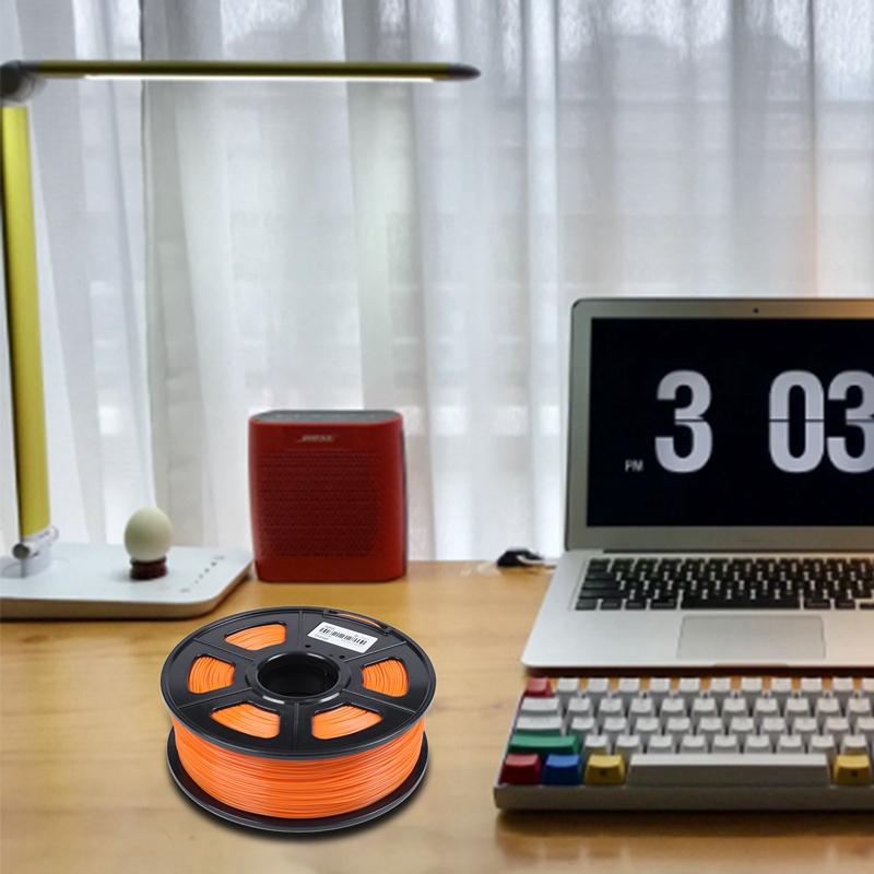 3D-Printer-Filament-1kg-2-2lb-1-75mm-ABS-Plastic-for-RepRap-Mendel-Orange-L6J3 thumbnail 4