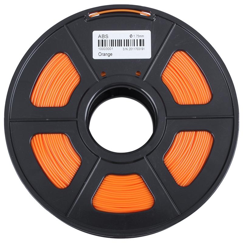 3D-Printer-Filament-1kg-2-2lb-1-75mm-ABS-Plastic-for-RepRap-Mendel-Orange-L6J3 thumbnail 5