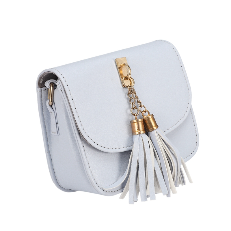 Fashion-Small-Chains-Bag-Women-Candy-Color-Tassel-Messenger-Bags-Female-Han-B2T5 thumbnail 11