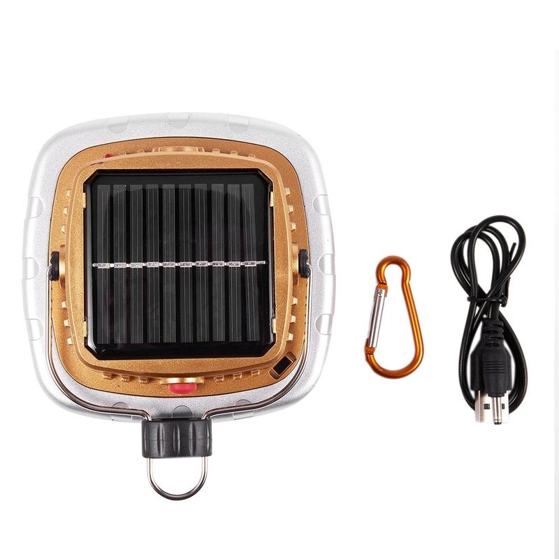 Cob-Solar-Laternen-Led-Zelt-Camping-Lampe-USB-Taschen-Lampe-Akku-Zelt-Licht-G3G7 Indexbild 3