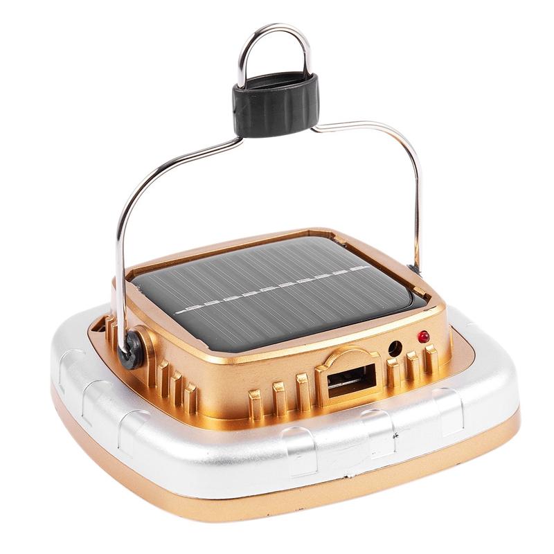Cob-Solar-Laternen-Led-Zelt-Camping-Lampe-USB-Taschen-Lampe-Akku-Zelt-Licht-G3G7 Indexbild 6