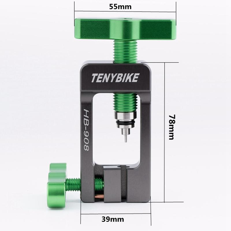 VeLo-VTT-Tube-Connecteur-Olive-TeTe-Outil-D-039-Installation-Aiguille-a-Huile-P-F4Y3 miniature 7
