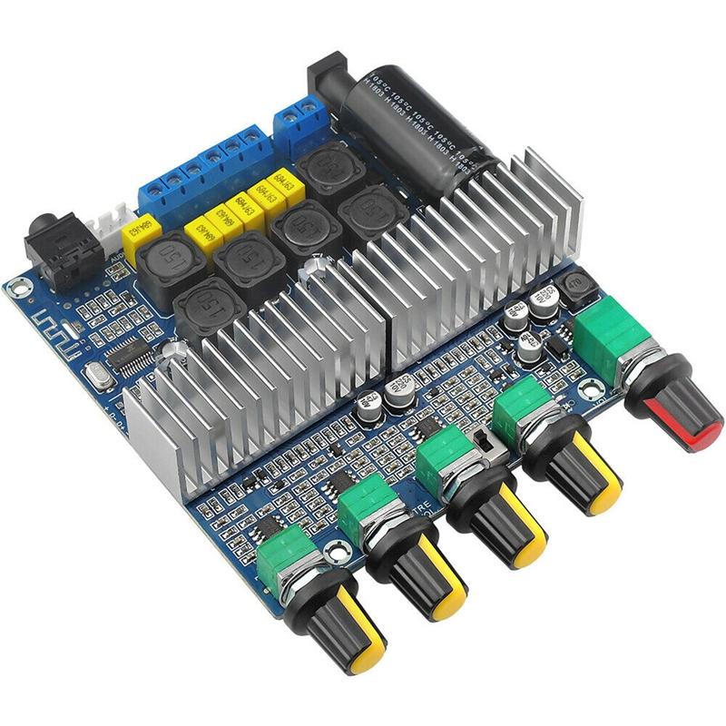 15X-TPA3116D2-DC12V-24V-Bluetooth-4-2-Subwoofer-Audio-Amplifier-Board-2-1-C7X4 thumbnail 2