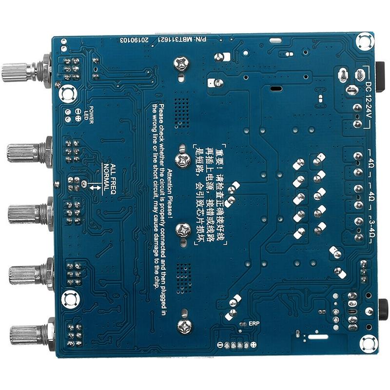 15X-TPA3116D2-DC12V-24V-Bluetooth-4-2-Subwoofer-Audio-Amplifier-Board-2-1-C7X4 thumbnail 7