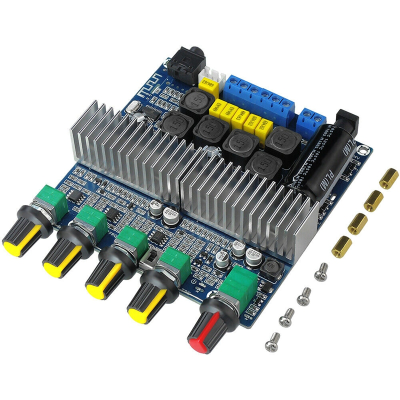 15X-TPA3116D2-DC12V-24V-Bluetooth-4-2-Subwoofer-Audio-Amplifier-Board-2-1-C7X4 thumbnail 9