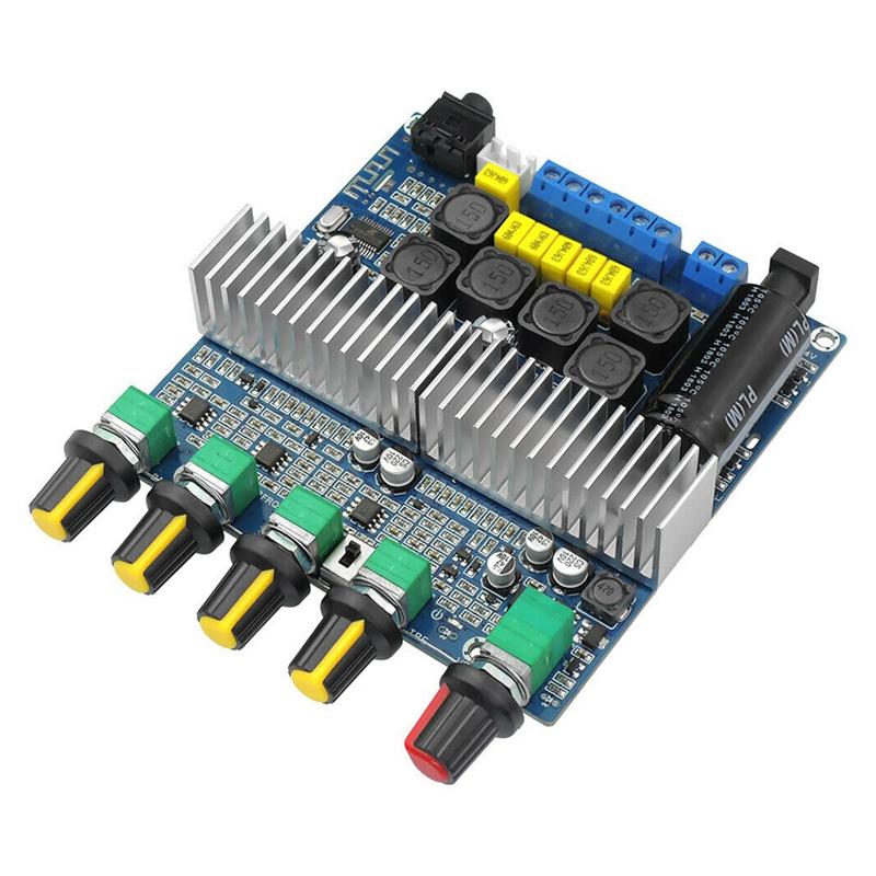 15X-TPA3116D2-DC12V-24V-Bluetooth-4-2-Subwoofer-Audio-Amplifier-Board-2-1-C7X4