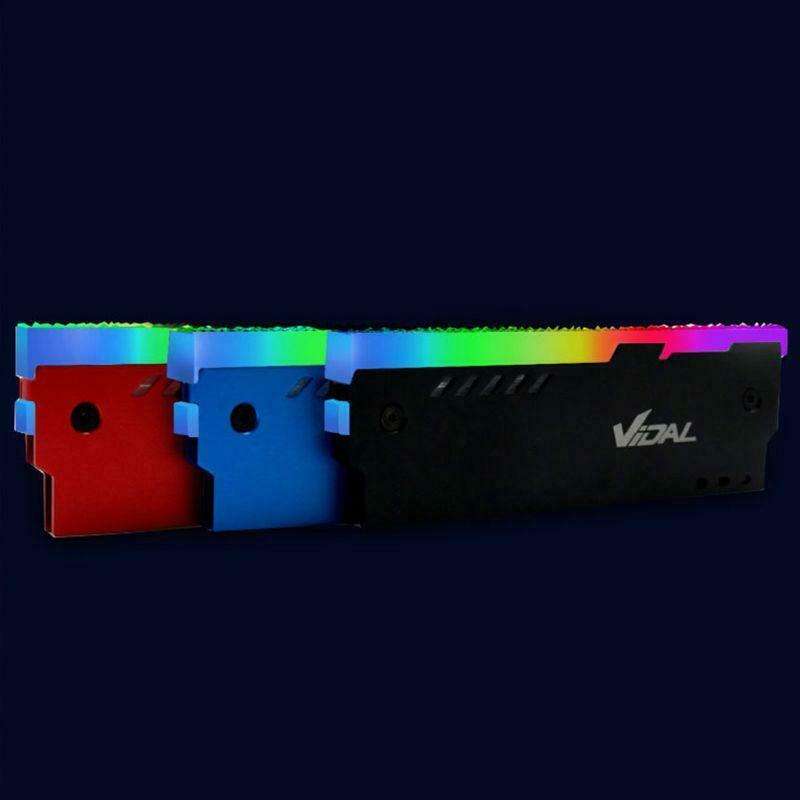 Indexbild 4 - Desktop-Speicher-RAM-RGB-KueHlkoeRper-KueHler-Shell-RGB-Aluminium-KueHlweste-fuer-TGB
