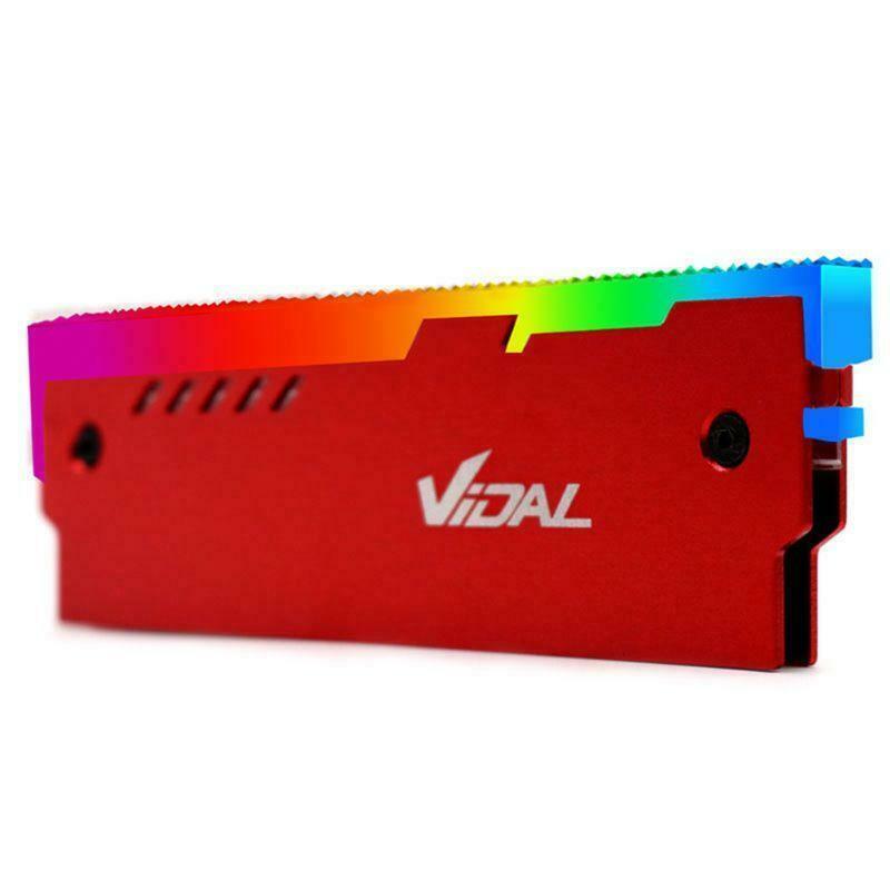 Indexbild 15 - Desktop-Speicher-RAM-RGB-KueHlkoeRper-KueHler-Shell-RGB-Aluminium-KueHlweste-fuer-TGB