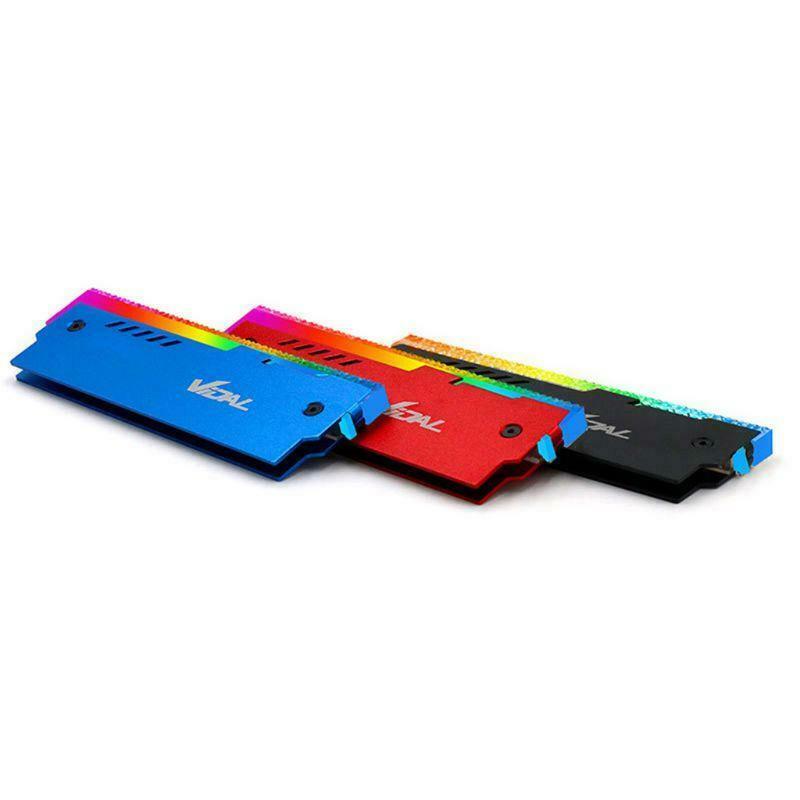 Indexbild 16 - Desktop-Speicher-RAM-RGB-KueHlkoeRper-KueHler-Shell-RGB-Aluminium-KueHlweste-fuer-TGB