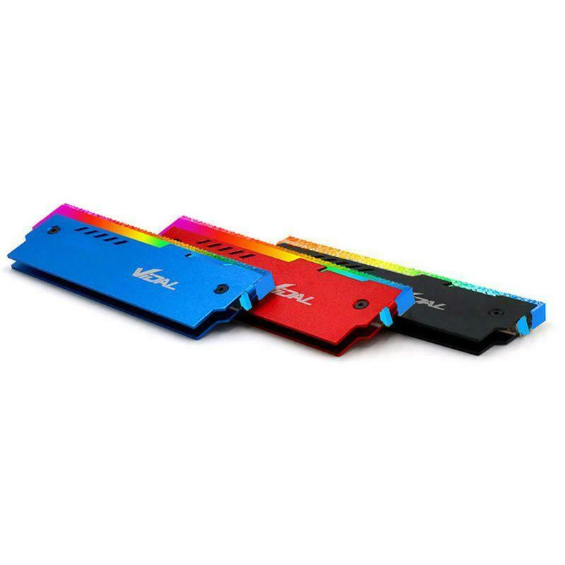 Indexbild 24 - Desktop-Speicher-RAM-RGB-KueHlkoeRper-KueHler-Shell-RGB-Aluminium-KueHlweste-fuer-TGB