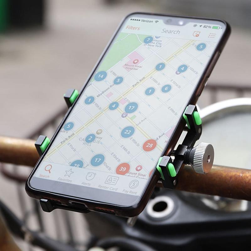 Soporte-para-TeleFono-MoVil-de-Bicicleta-Soporte-de-NavegacioN-Fijo-a-Prueb-U9X2 miniatura 4