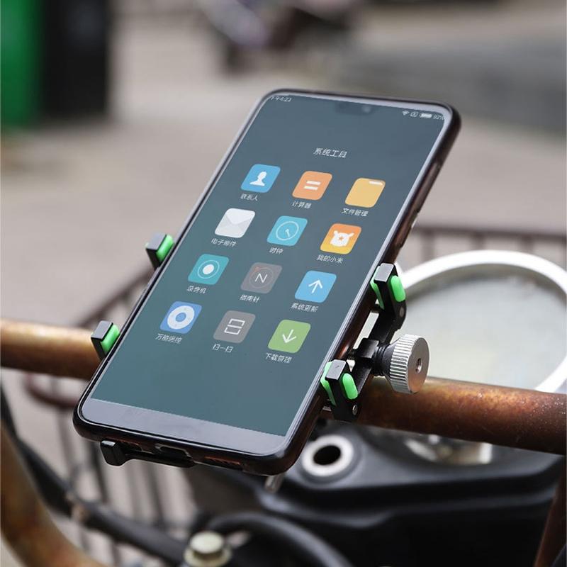 Soporte-para-TeleFono-MoVil-de-Bicicleta-Soporte-de-NavegacioN-Fijo-a-Prueb-U9X2 miniatura 8