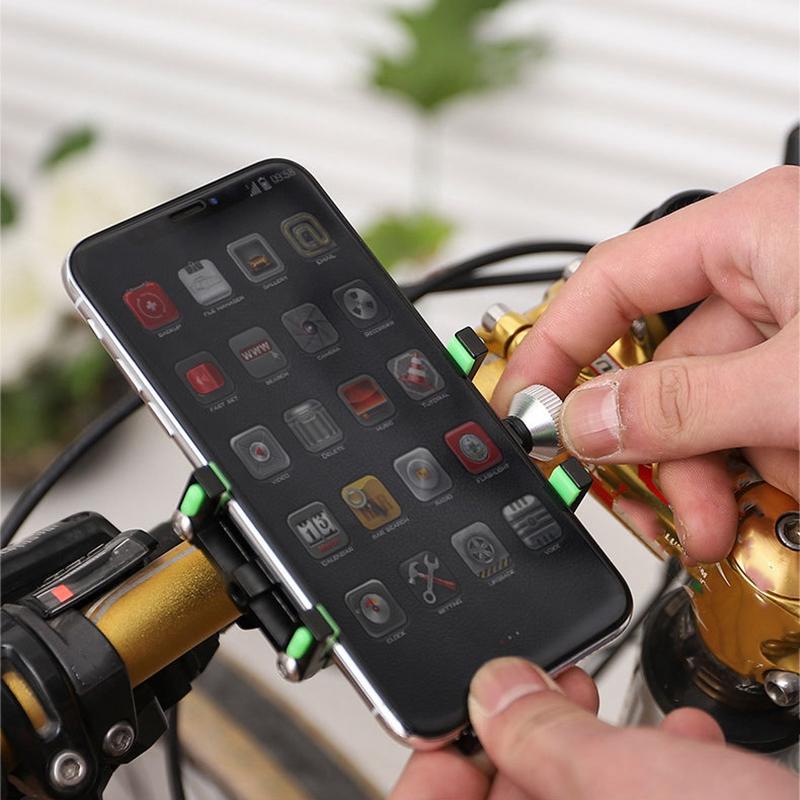 Soporte-para-TeleFono-MoVil-de-Bicicleta-Soporte-de-NavegacioN-Fijo-a-Prueb-U9X2 miniatura 27