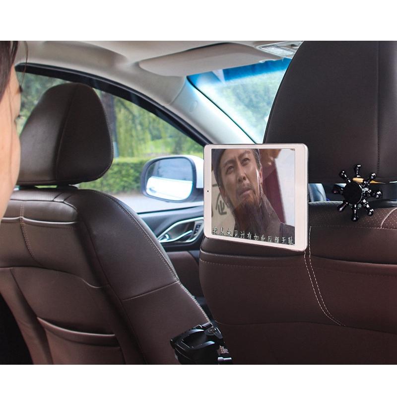 3X-2-in-1-Auto-KopfstueTze-Haken-mit-Handyhalter-RueCkenlehne-AufhaeNger-MultiM7P1 Indexbild 5