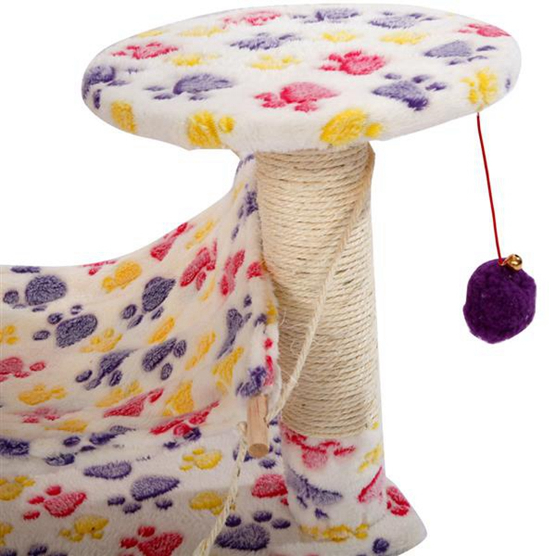 "Cat Tree Climb Holder Tower 23/""32/""43/""36/"" Furniture Scratching Post Pet Dog House"